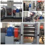 Alto calendario di gomma efficiente del rullo per produzione di rivestimento della gomma