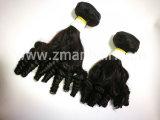 良質の人間の毛髪の拡張Funmiの毛の織り方