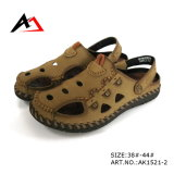 Men (AK1521)를 위한 가죽 Sandal Shoes Summer Beach Fashion Shoe