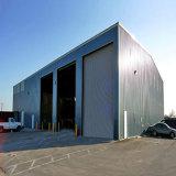 Qingdao City Hangar de Estrutura de aço prefabricadas