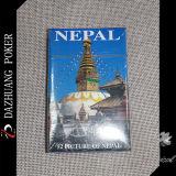 Schede di gioco del ricordo con la maschera 52 del Nepal