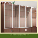 OEM Wooden Display CabinetおよびShowcase