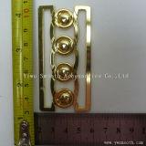 Form zwei Stücke gemeinsame Metalllegierungs-blockierenfaltenbildung-für Riemen