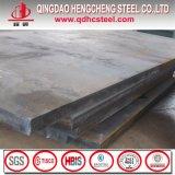 Placa de acero Chequered del carbón de la gota suave del rasgón con precio bajo