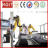 Набивкой робота 6-Оси машина линейным пенясь