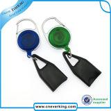 Plastikabzeichen-Bandspulen mit Identifikation-Kartenhalter