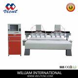 CNC機械を切り分けるマルチヘッド機械木工業機械装置