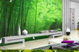 호텔 공중 지역 나무로 되는 벽면