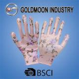Яркие выходные данные нитриловые перчатки безопасности Gmnr010