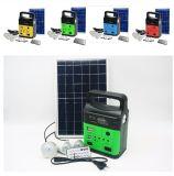 100 % de l'Énergie solaire Énergie solaire haute puissance Accueil Kits d'éclairage avec radio FM