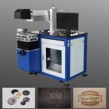 Insignia del grabado del laser de los materiales del no metal para la madera/la máquina de papel de la marca del laser