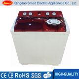 Capacidad 9kg Lavadora de tela semi automática de la bañera de la bañera que se lava