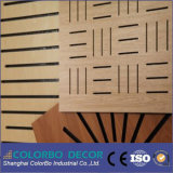 Techo de madera de la acústica de la madera de los materiales reanudables
