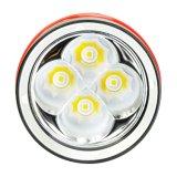 Alta qualità 4, torcia di alluminio Wy08 di immersione subacquea di 000lumens IP68 LED