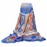 110*110 см 100% полиэстер атласнойбольшой площади шарфы