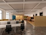 현대 작풍 우수한 직원 분할 워크 스테이션 사무실 책상 (PS-AWK-010)