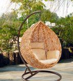 Presidenza di plastica dell'oscillazione del giardino del patio di svago esterno della mobilia