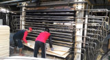 خشب رقائقيّ لب قشرة مجفّف آلة 15 طبقات قشرة حارّة صحافة مجفّف