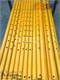 Los andamios apuntalamiento puntales partes tubo rosca del tornillo de encofrado utilizado Accesorios