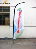 bandierina di spiaggia su ordinazione di alluminio di promozione di evento di 2.8m/bandierina di volo/bandiera di volo