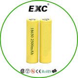電池の卸売18650の再充電可能な2500mAhリチウム電池3.7V