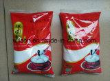 Plantain de Ghana ou máquina de empacotamento automática do alimento da refeição da mandioca