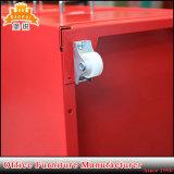 Venda usada dos gabinetes de arquivo da mobília de escritório de Godrej da gaveta do metal 6 da sala de visitas Jas-117