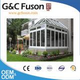 De Norm van het oosten in Glas Sunroom wordt gemaakt die van de Winter van het Frame van het Aluminium van China het Kleine