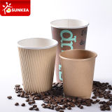 200 ml 300 ml 400 ml taza de papel del café de 500 ml