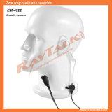 Écouteur acoustique de tube avec de petits PTTs de revers/microphone pour Motorola Cp040 Cp140 Cp200 Cp150 Cp160 Ep450 etc.