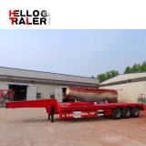 3 Axle низкий кровати трейлер Semi с полезной нагрузкой 60 тонн