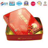 Zinn Box mit Lid für Packaging Short Bread Jy-Wd-2015120706