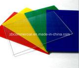 El color o blanco 1-20mm de grosor de hoja de plástico de PVC rígido