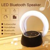 Altoparlante luminoso della Tabella dell'altoparlante stereo di Bluetooth di figura della luna di Abajur dell'indicatore luminoso senza fili di notte