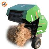 カスタマイズされたコンパクトで小さい小型円形の干し草の梱包機機械価格