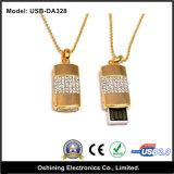 USB Disk della collana con Jewelry (USB-DA328)