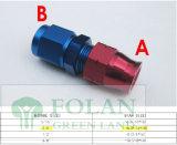 Conexiones de mangueras hidráulicas reutilizables los racores de compresión Bsp adaptadores giratorios Adaptador de manguera del freno