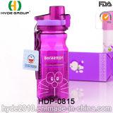 Портативная оптовая продажа BPA освобождает пластичную бутылку воды (HDP-0815)
