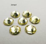 Swaro Flatback Rhinestone Crystal Reports для ногтей Jonquil цвета со стразами на обувь (FB-SS20 jonquil/5A)
