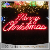 LED Windows 훈장 즐거운 성탄 산타클로스 옥외 빛