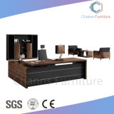 La moda de 50 mm de Muebles de Oficina Ejecutiva Thinckness Tabla de administrador en forma de L (CAS-MD1868)