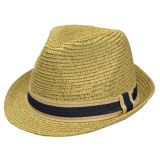 Пользовательские моды Man Red Hat летом бумаги крышку колпака соломы