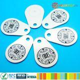 fibra di vetro classica Keyfob della pera di 13.56MHz MIFARE 1K RFID