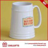 Tazza di birra di ceramica del grande commercio all'ingrosso di formato per il regalo promozionale