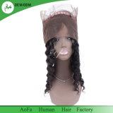 Frontal non trattato caldo dei capelli umani 360 dell'onda 100% del corpo di vendita