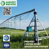 Máquina de centro de la irrigación del sistema de irrigación de la granja de la regadera /Pivot con el arma de aerosol grande