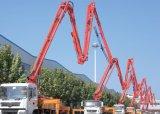 pompe de distribution concrète Camion-Montée par châssis de 21m 25m 29m Sinotruck
