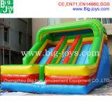 スライド、新しいポイント膨脹可能なスライド(DJWS018)が付いている子供の膨脹可能なプール