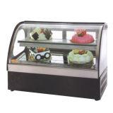 Coffee Shop Frigorífico vitrina de bolos de mármore /Bolo de mesa Exibir Frigorífico