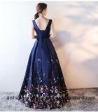 Langes Abend-Dame-Kleid-Partei-Kleid